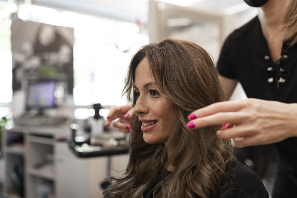 commercial photos of hairdresser in Lleida