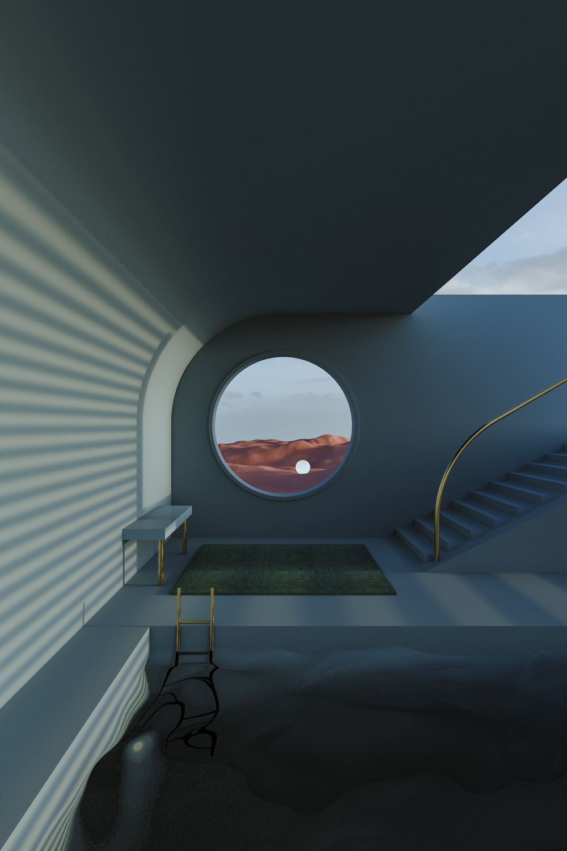 Render of Surreal Space